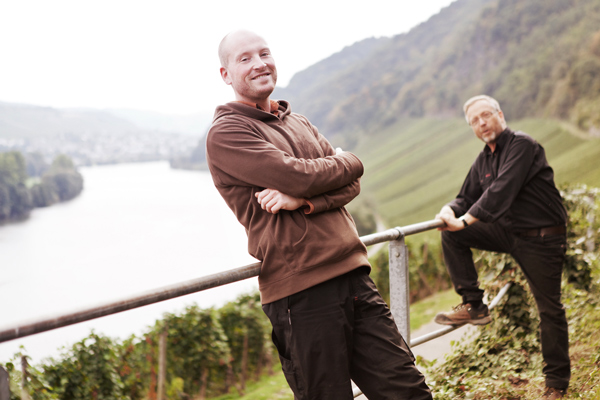 Johannes (links) und Marcus Haart, VDP Weingut Haart. Foto: Fair and Green e.V.