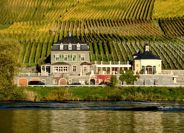 Weingut Dr. Loosen, Bernkastel ©Weingut Dr. Loosen, photo: Chris Marmann.