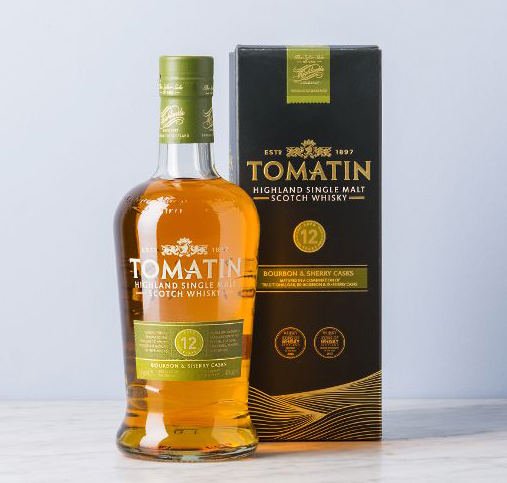 Tomatin 12 Jahre - Highland Single Malt Scotch Whisky.