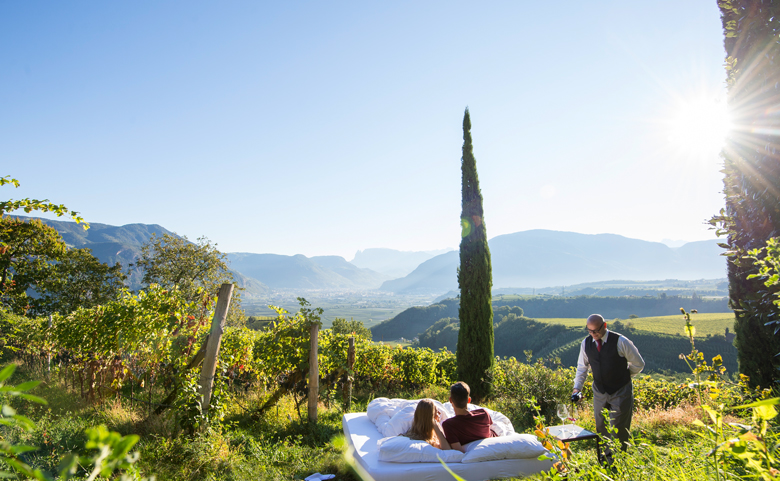 Südtirol: Wo man das Alpine wie das Mediterrane zugleich erlebt. Foto: Alex Filz