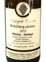 2015 Rickelsberg edelsüss Riesling-Steillage