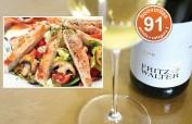 Prima Sauvignon Blanc mit zarter Restsüße: 91 bonvinitas Punkte in der Kategorie 3 - großartig z.B. zu Salat mit Putenstreifen