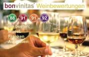 Die besten der bonvinitas Weinbewertung vom 24.10.2019 - von der Mosel, aus Franken sowie aus Australien