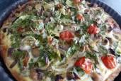 Kartoffelquiche mit Gemüsebelag. Foto: Katja Schraut