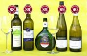 bonvinitas Weinbewertung 29.4.2019: beste Tropfen der Kategorie 2 - Weiß- und Grauburgunder, Silvaner, Riesling, Sauvignon Blanc