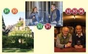 Beste Weine: bonvinitas-Entdeckungen von Dieter Simon der Weingüter: Maximin Grünhaus, Prinz Salm und Nelles. Von links: Das Weingut Maximin Grünhaus; Prinzessin Viktoria und Prinz Felix Salm; Thomas und Philip Nelles.