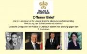 Deutsche Delegation von Relais & Châteaux bezieht klar Stellung. Zu den Fotos siehe im Text ganz unten