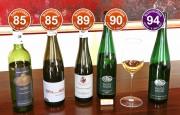 - Beste Weine mit Restsüße und edelsüße aus den Kategorien 3 und 4 der bonvinitas Weinbewertung vom 6.3.2017.