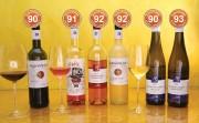 Großartige mildere Weine aus der bonvinitas Weinbewertung vom 9.3.2021 machen richtig Spaß und sehr gut bewertet – bis 93 Punkte