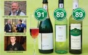 Die allerbesten leichten Weine u. Sekt der Weinbewertung 11.6.2018