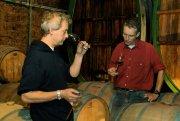 Zwei Bundesehrenpreisgewinner: Uwe und Harald Ziegler, die das Weingut August Ziegler betreiben.