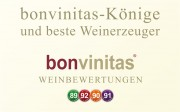 Die bonvinitas-Könige und besten Winzer pro Jahr - großartige Weine