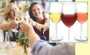 Wieviel Wein ist gesund? Unterschiede zwischen Damen und Herren - 'Wine in Moderation' gibt Mengentipps - weltweiter Zusammenschluss der Weinbranche, Ziel: Wein bewusst und maßvoll genießen. Foto Weintrinken: Rawpixel; Foto Gläser: Mardre - je Adobestock