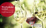 Vom 9. bis 25. September mit über 200 Wein-Dates in ganz Deutschland.
