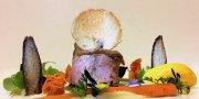 Kalbsfilet in Knoblauchkruste von Michelin-Stern Koch Peter Girtler. Foto: PR Hotel Stafler