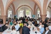 Die Versteigerung des VDP Rheingau findet traditionell im Kloster Eberbach statt.