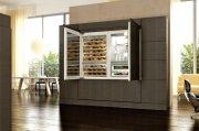 Gut eingepasst im Wohnzimmer - Modell von Kitchenaid.