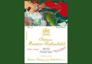 Etikett für Château Mouton Rothschild 2015 von Gerhard Richter