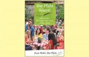 """Der Kalender """"Die Pfalz feiert …"""" 2020 - Broschüre mit 651 Gute-Laune-Terminen: Weinfeste, Messen und vieles mehr"""