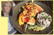 Süßer Grilltraum: Hähnchenbrust mit Avocadocreme - Rezept von unserer Leserin Carmen Mans