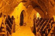 Champagnerkeller unter dem Hügel Saint-Nicaise in Reims sind Teil der einzigartigen Produktion. Quelle: Michel Guillard / Bureau du Champagne