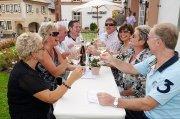 An 150 Schankstellen in der Pfalz konnten Besucher am letzten August-Wochenende Pfälzer Wein und vor allem Sekt genießen.
