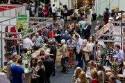 Blick auf die Badische Weinmesse 2015