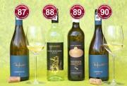 Die besten trockenen Grauburgunder, Weißburgunder, Chardonnay der bonvinitas-Weinbewertung vom 17.6.2019