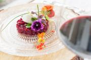 Schmeckt herrlich zum Rotwein: Rote Beete-Tatars