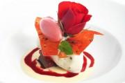 """Dessert """"Heiße Liebe"""" -schöner kann man sie kaum zeigen - Gruß zum Valentinstag"""