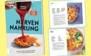 Nervennahrung, das Koch-und-Lesebuch der bekannten SPIEGEL-Online-Kolumnistin Verena Lugert - macht riesig Freude an Kochen und Essen