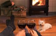 Gemütliche Winterabende mit gutem Wein