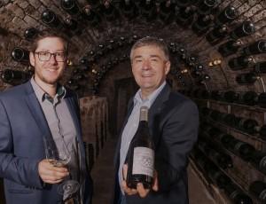 Markus und Reinhard Waldschütz (von links). Foto: Gerald Hoermann
