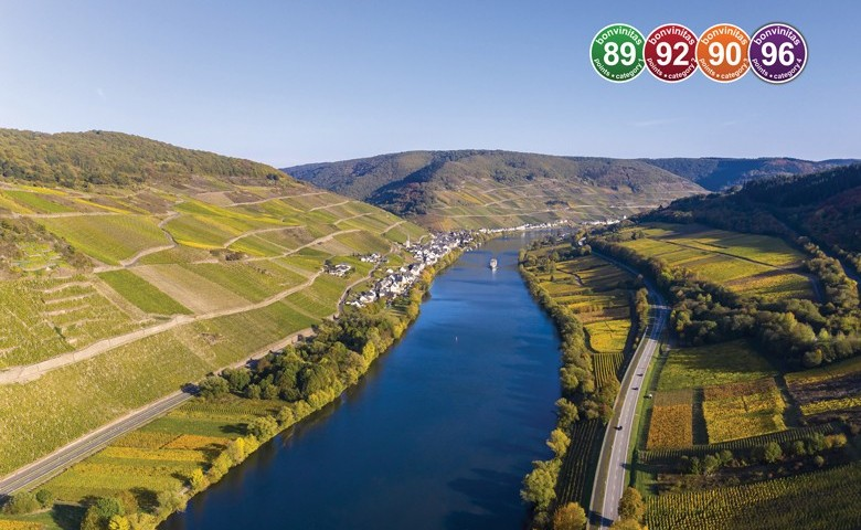 Die Mosel bei Zell. Foto: David Brown - stock.adobe.com