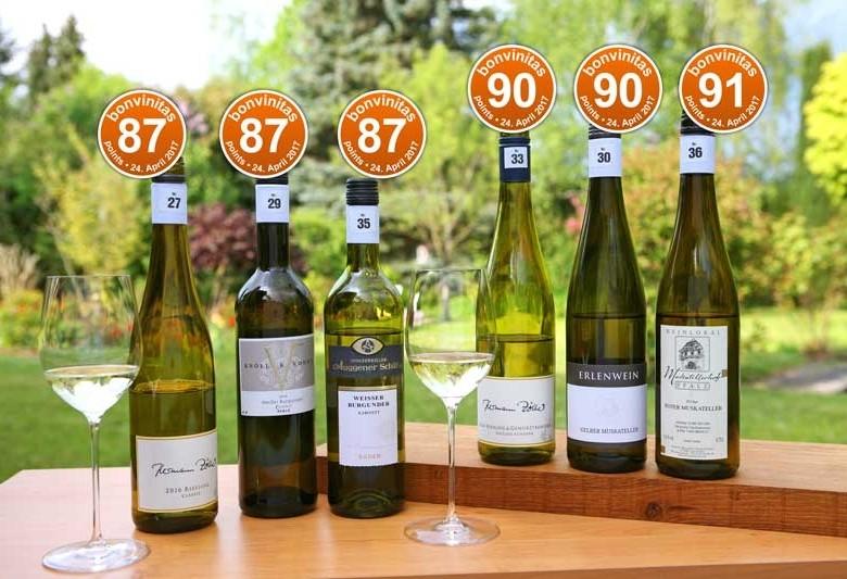 Die besten Weine mit Restsüße: Weinbewertung 24.4.2017