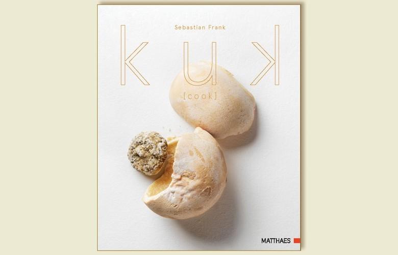 Kreativität pur: KUK, von Sebastian Frank - Koch und Patron des Berliner Horvath, zwei Michelin-Sterne – mehr als ein Buch - man kommt nicht aus dem Staunen