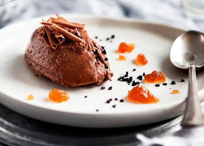 Mousse au Chocolat mit Earl Grey