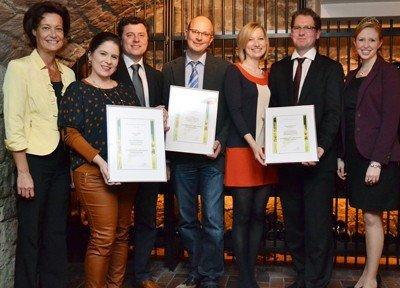 """""""Burgunder-Trio"""" – beste deutsche Burgunder ausgezeichnet"""