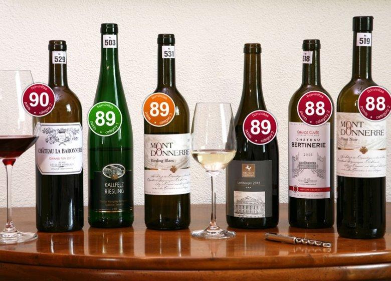 Die Besten der bonvinitas-Weinbewertung vom 1.9.2014