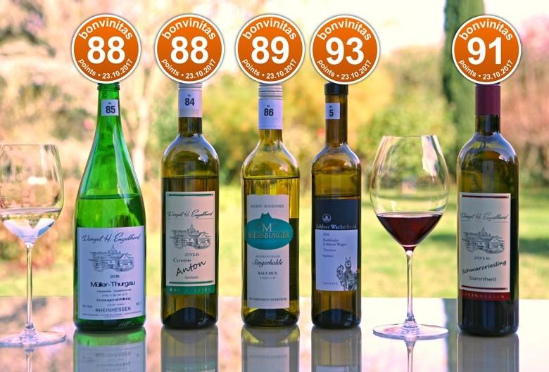 Süffige Weine, lieblicher, beste der Weinbewertung v. 23.10.2017