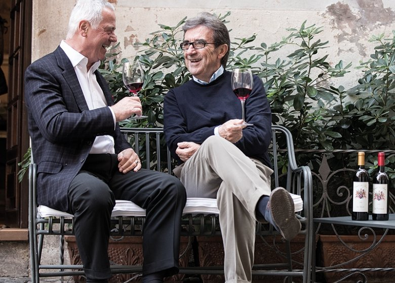 Zwei Köpfe, eine Vision: Das Gaillac soll wieder den Ruhm erhalten, den es verdient, finden Ferdinand von Thun (l.) und Riccardo Cottarella.