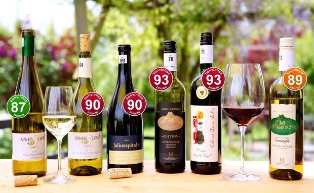 Beste deutsche Weine – bis 93 Punkte!