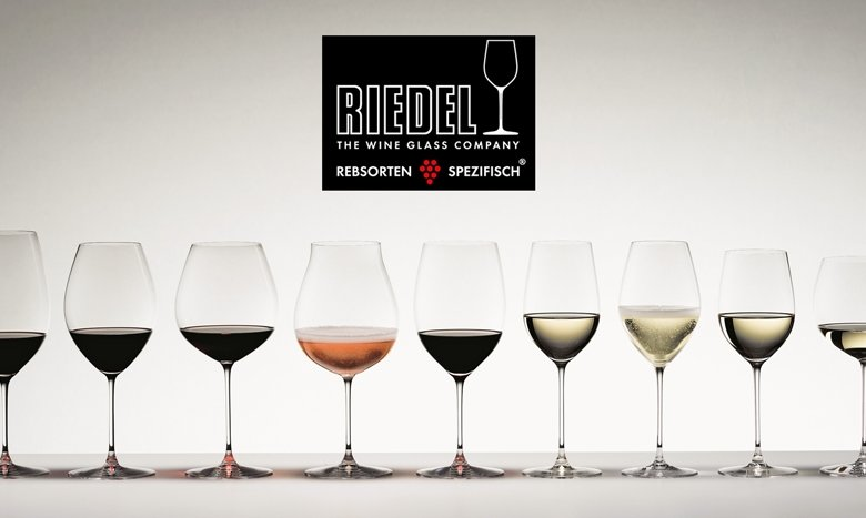 Die Rebsortenserie Veritas von Riedel. Foto: PR Riedel