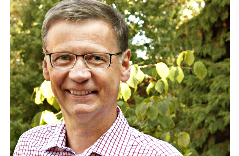 Der bekannte TV-Moderator Günther Jauch, Besitzer des Weinguts von Othegraven in Kanzem an der Saar.