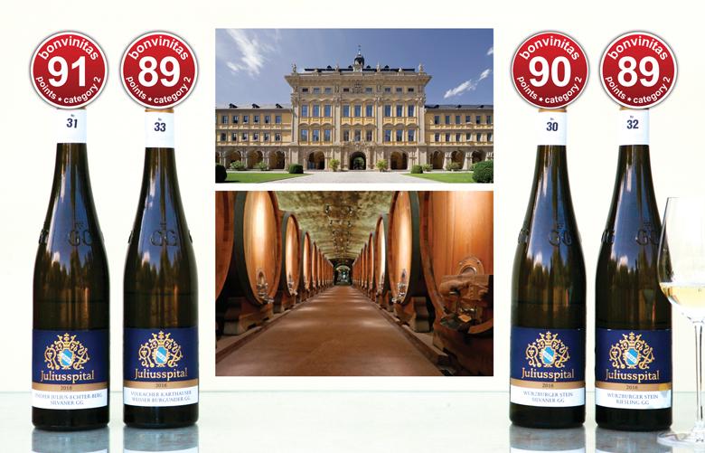 """VDP Weingut Juliusspital: ausgezeichnete """"Grosse Gewächse"""""""