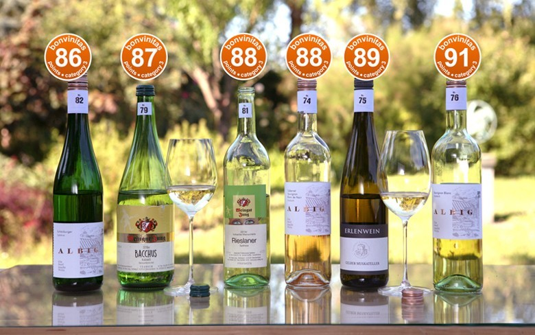 bonvinitas Weinbewertung vom 15.6.2020: Die besten Weine mit Restsüße in der bonvinitas Kategorie 3 – orange Punkte