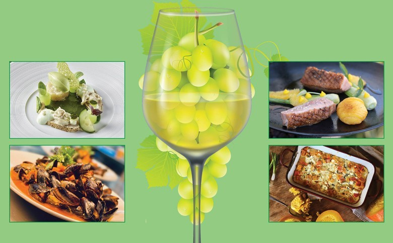 Lust auf einen kräftigen Weißwein: dann Sauvignon Blanc! Dezenter in der Säure - etliche mit interessant grünen Noten - plus tolle Tipps was gut dazu passt – und Rezepte