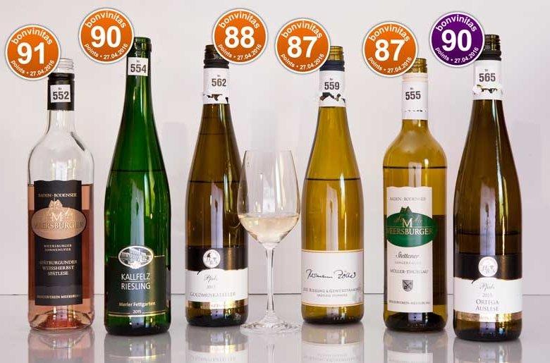 Wer's lieblicher mag: Die besten der Wein-Bewertung vom 27.4.2016