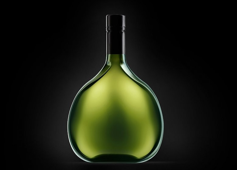 Der Bocksbeutel PS ist die neue Form für Wein aus Franken.