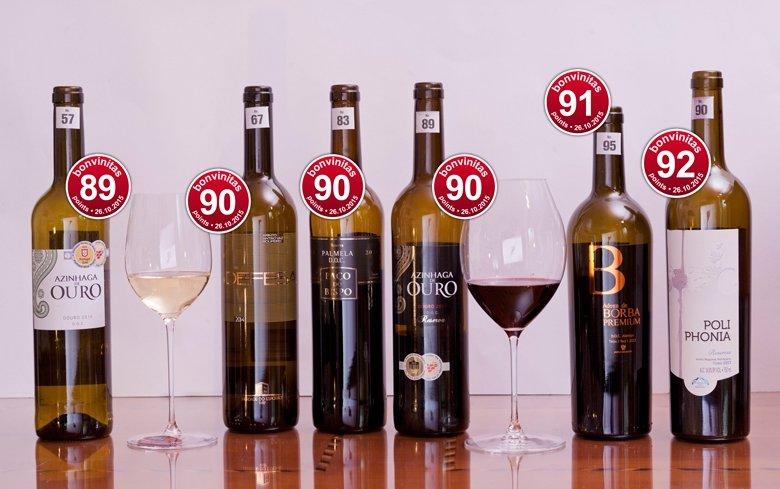 bonvinitas Weinbewertung v. 26.10,2015: Beste Tropfen aus Portugal